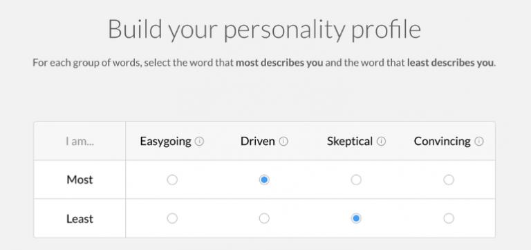 test personalidad